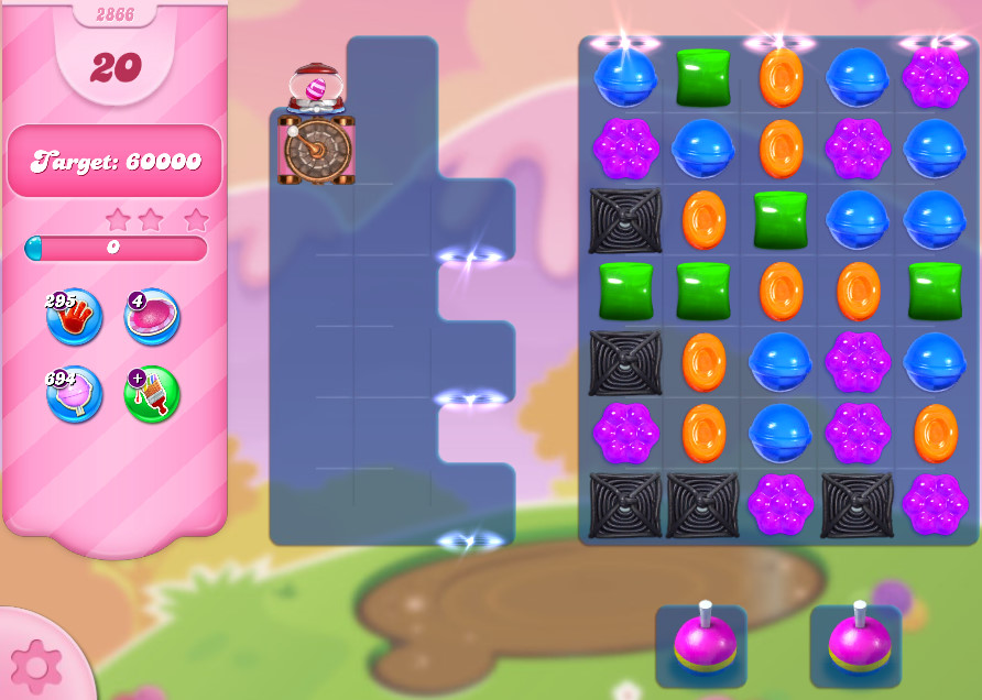 Candy Crush Saga level 2866