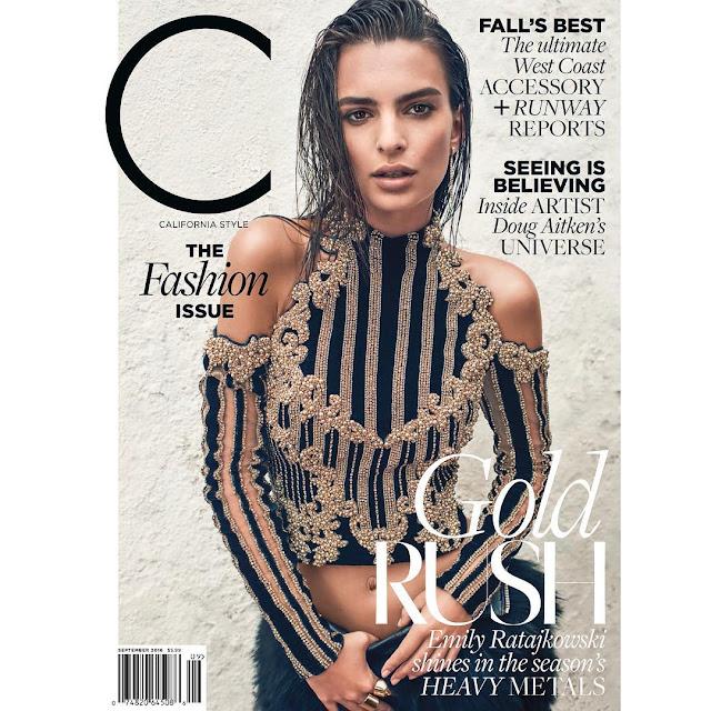 Actress, Model, @ Emily Ratajkowski - C Magazine September 2016