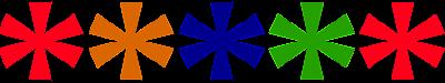 Asterisks