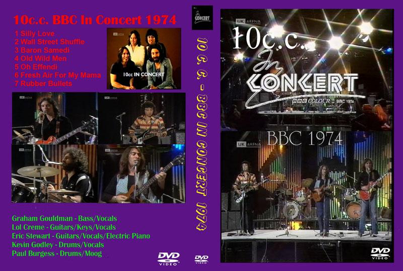 10CC - BBC in concert - 1974