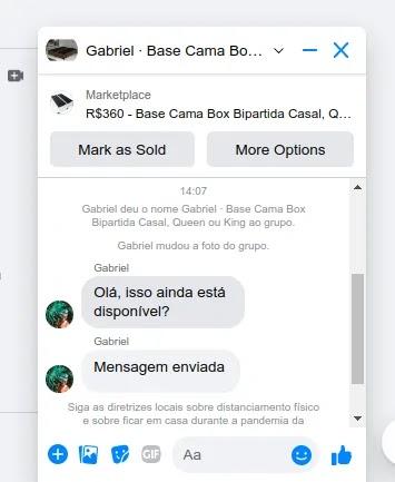Como vender no Messenger do Facebook