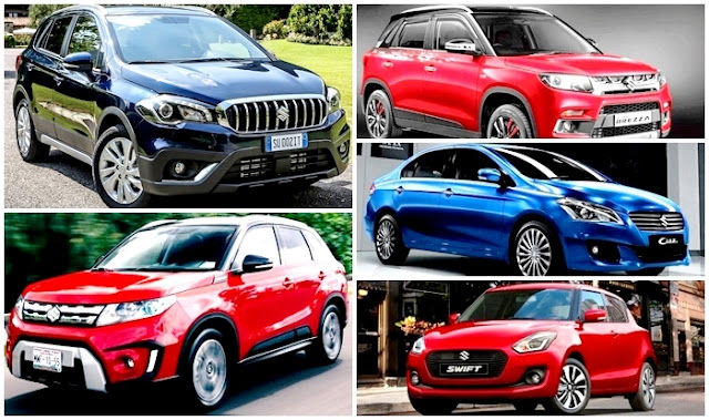 Upcoming Maruti Suzuki Cars New Launch In INDIA 2017 - 2018 , Latest Car Launching Soon , S-Cross Facelift , 2018 Swift , Ciaz Facelift , Vitara Brezza , Price , Specifications , And Many More