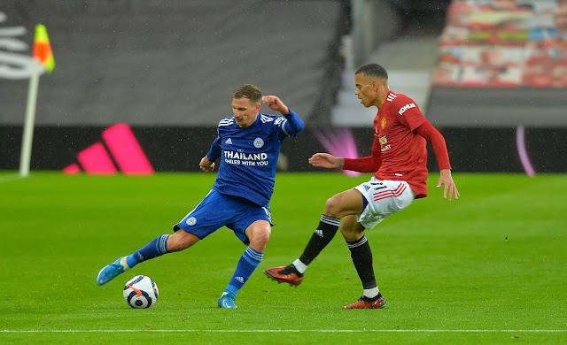 ملخص واهداف مباراة مانشستر يونايتد وليستر سيتي (1-2) الدوري الانجليزي