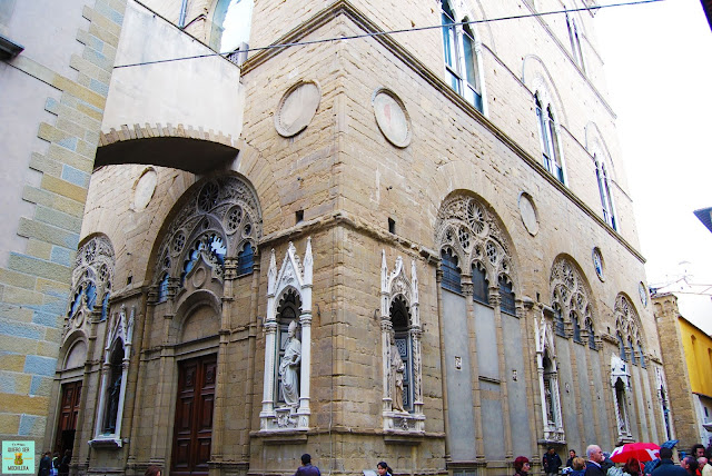 Iglesia de Orsanmichele en Florencia