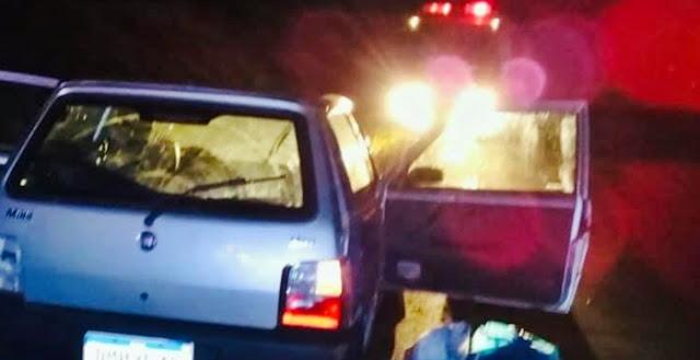 Manoel Ribas: Motorista perde o controle e capota veículo na PR-466