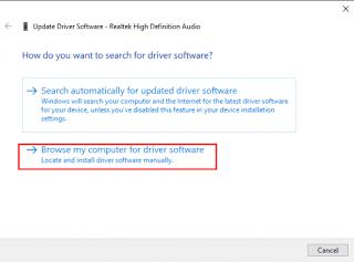 Mettre à jour les pilotes dans Windows 10 Gestionnaire de périphériques