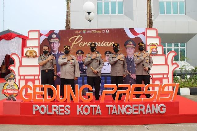 """Kapolri: Maksimalkan Mapolresta """"Presisi"""" Tangerang untuk Masyarakat"""