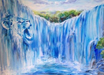 The Waters Are Breaking Forth by Deborah Waldron Fry