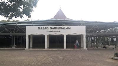Masjid Darussalam KBN Cakung Menyimpan Sejuta Kenangan