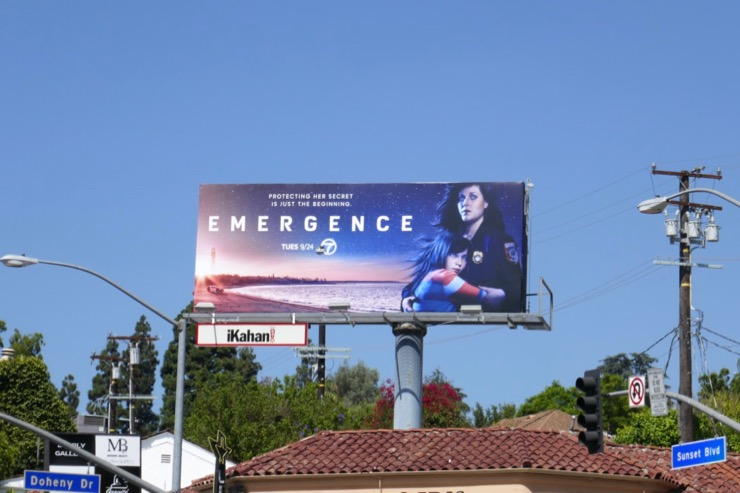 Emergence series premiere billboard