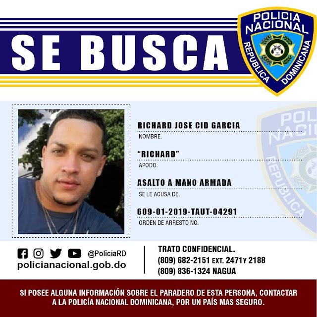 Policía Nacional logra avance significativo en caso de asalto a empresa de vigilancia en Puerto Plata; un hombre detenido y persigue otros tres
