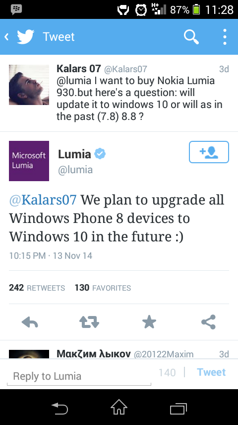 All Windows Phone Bisa Update Windows 10