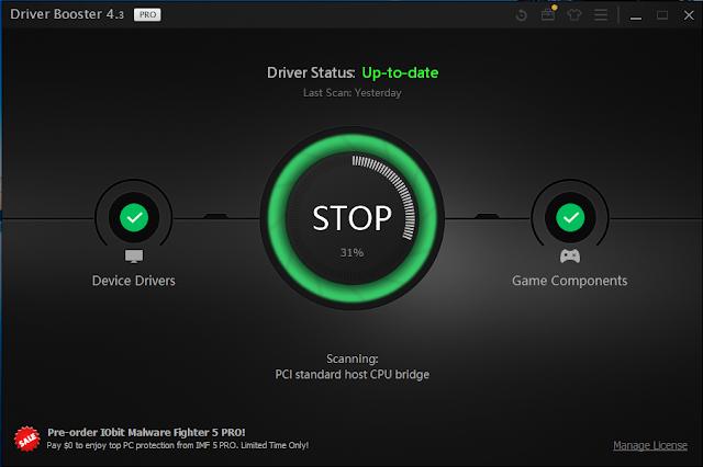 IObit Driver Booster Pro 4 Key