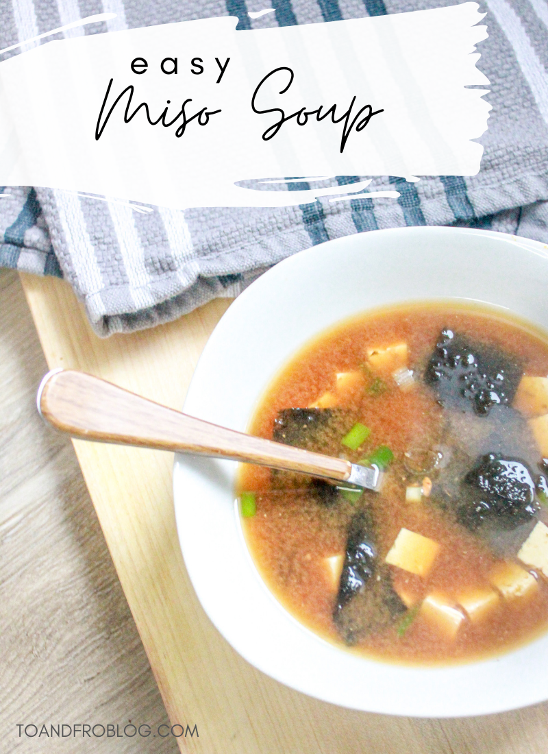 easy make at home miso soup recipe