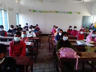 ৫৪৩ দিন পর স্বাস্থ্যবিধি মেনেই খুলল শিক্ষা প্রতিষ্ঠান