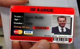 Online hook upp Badge