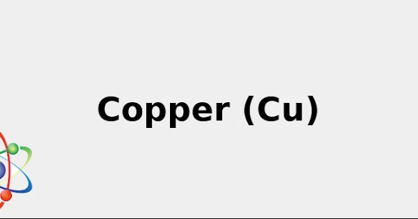 Atomic Symbol for Copper (& Cool facts: Sources, Color