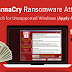 WannaCry වලින් බේරෙන්නේ මෙහෙමයි.