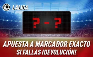 sportium jornada 18 Promo LaLiga  8-10 enero 2021