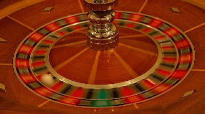 Ruleta en movimiento