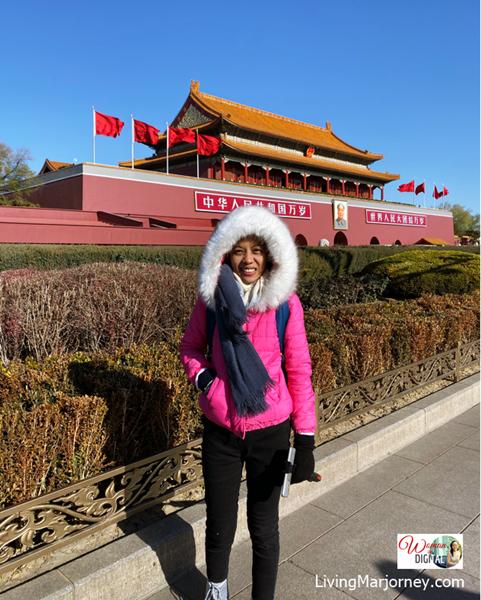 Forbidden City in December