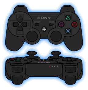 PES 2018 PS3 Gamepad + Buttons by Txak