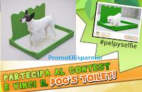 Logo Contest fotografico #pelpyselfie : vinci gratis una esclusiva Dog's Toilet Pelpy
