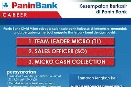 Info Lowongan Kerja Panin Bank Surabaya