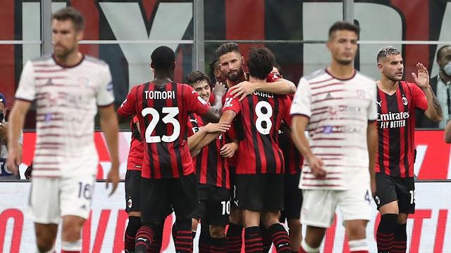 ملخص واهداف مباراة ميلان وكالياري (4-1) الدوري الإيطالي