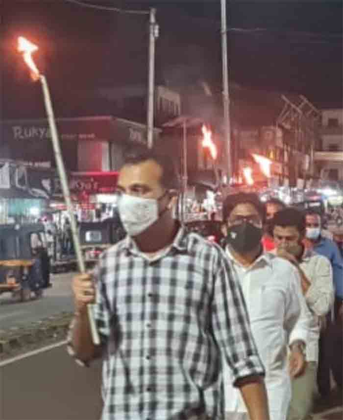Protest in Kasaragod for AIIMS