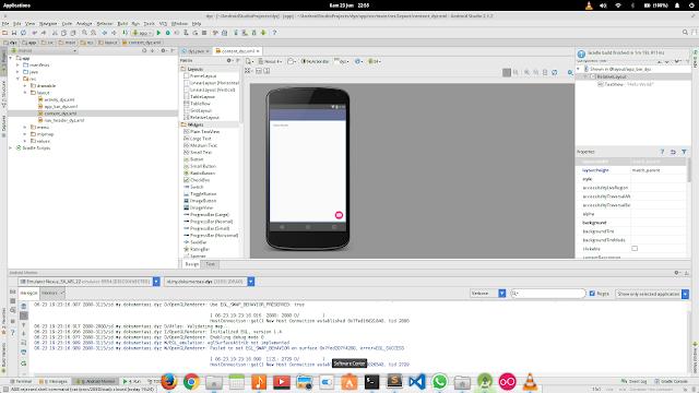 Cara install android studio di linux full