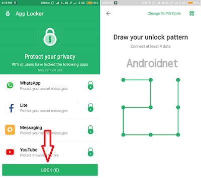Cara mengunci aplikasi di smartphone xiaomi