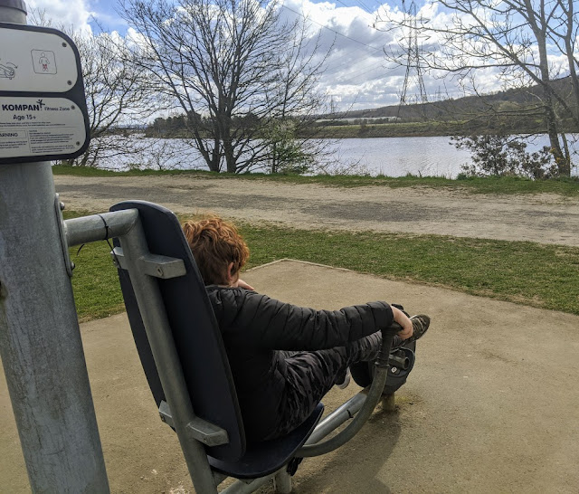 Tyne Riverside Country Park : Visitor Information Outdoor Gym