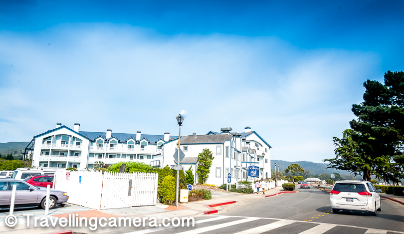 This area has some pretty good restaurants and hotels. Above photograph shows Oceano in Half Moon Bay.