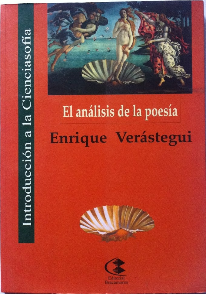 Enrique Verástegui: El análisis de la poesía
