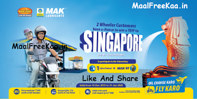 Free Trip Singapore