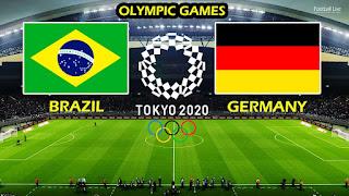 مباراة البرازيل والمانيا