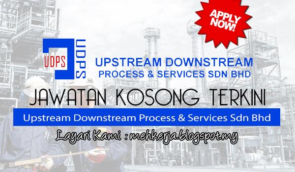 Jawatan Kosong Terkini 2017 di Upstream Downstream Process & Services Sdn Bhd