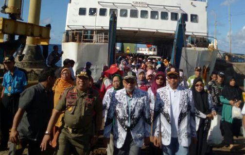 PGRI Bantaeng, Laksanakan Konfrensi Kerja Tahunan Di Selayar