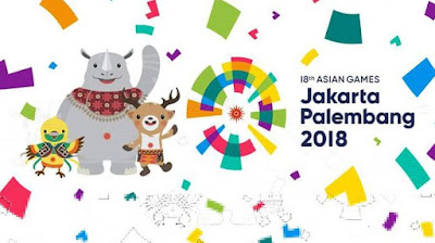 Asian games 2018 Energy of Asia