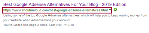 shoutmeloud.com google adsense alternatives 2019