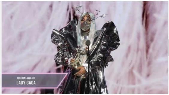 Lady Gaga won big in the VMAs - socially far - and socially aware