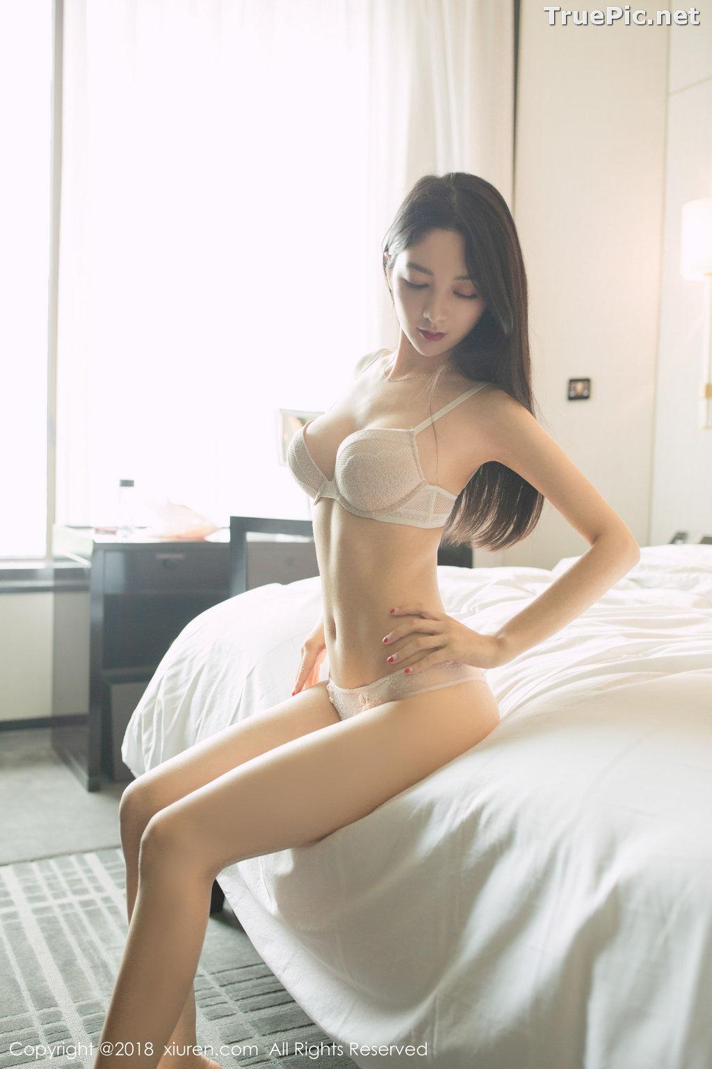 Image XIUREN No.1141 - Chinese Model - Xiao Reba (Angela小热巴) - Sexy Dress Tonight - TruePic.net - Picture-45