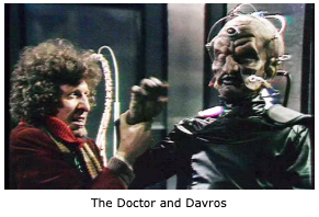 The Doctor and Davros (The Genesis of the Daleks)
