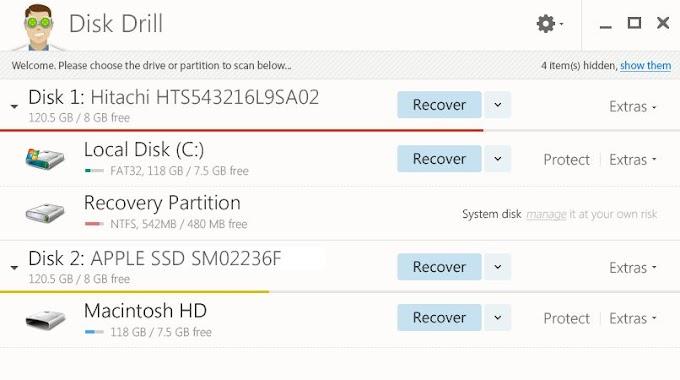 Disk Drill - Ανακτήστε διαγραμμένα αρχεία από τον υπολογιστή σας και όχι μόνο