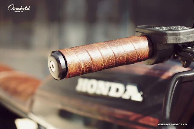 Honda CB750 By Overbold Motor Co. Hell Kustom