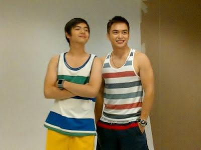 Paul Salas and Dominic Roque
