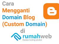 TUTORIAL Mengganti Domain Blog dengan Domain Sendiri