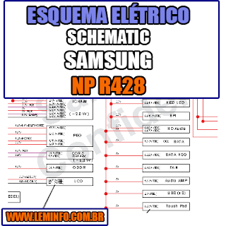 Esquema Elétrico Notebook Samsung NP R428 Laptop Manual de Serviço  Service Manual schematic Diagram Notebook Samsung NP R428 Laptop   Esquematico Notebook Placa Mãe Samsung NP R428 Laptop
