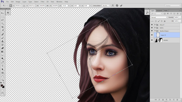21 Design cover buku Novel dengan Photoshop CC